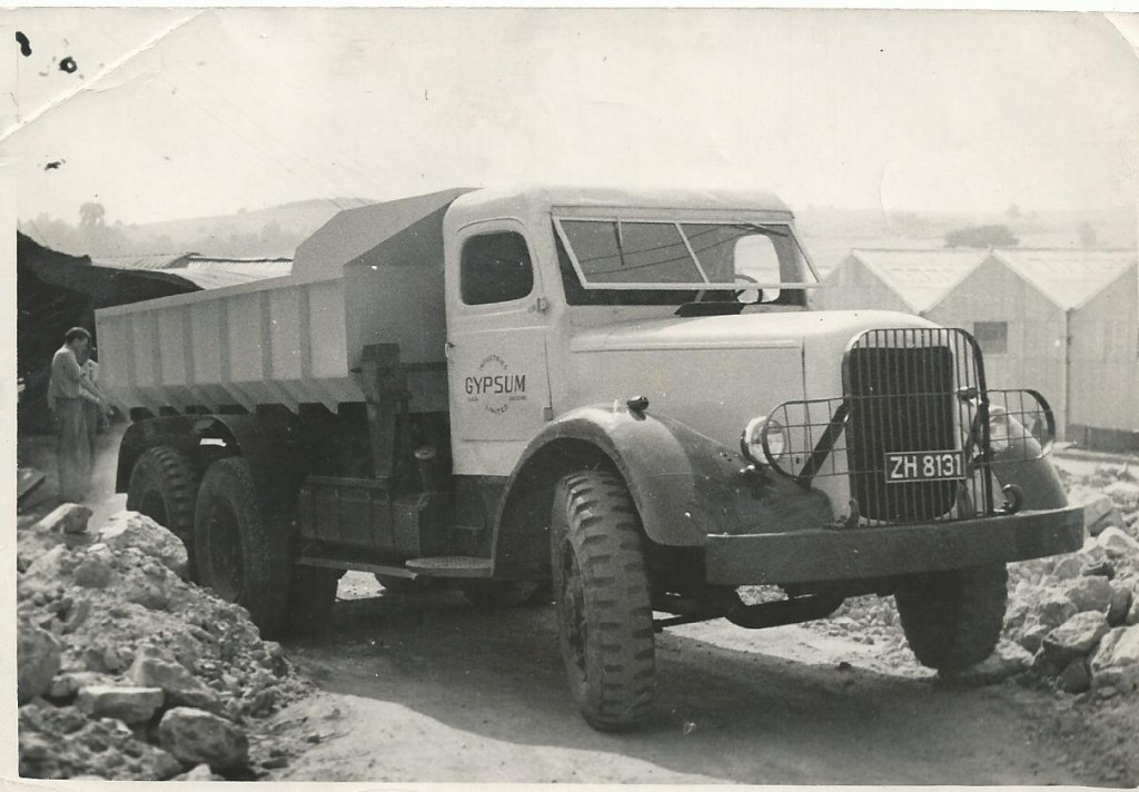 Gypsum Lorry