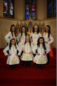 Irish Dancers on St. Patricks Day