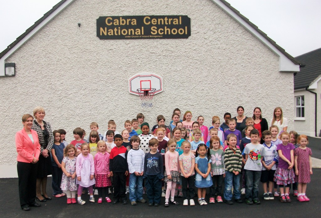 Ministers Visit to Cabra Central School (2)